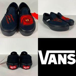 Vans Classic Slip On Dragon Flame NWT